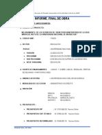 Informe Final de Obra Obu