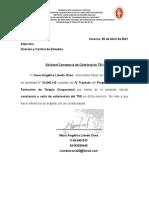 solicitud de carta Maria Liendo