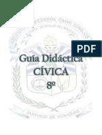 GUÍA DIDÁCTICA DE CÍVICA 8º TEMA Nº3