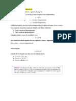 NOTAS DE AULA_08 FEV - FUNCOES DE VARIAS VARIAVEIS