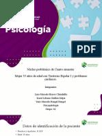 Presentacion de Nucelo Cuarto Semestre- Mujer 35 Años-trastorno Bipolar I-problemas Cardiacos.