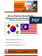 ISIS-Focus_No.3_2010_Korea-Malaysia-Roundtable_Nov-2009