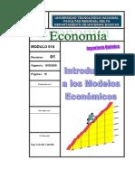 Introduccion a Los Modelos Economicos