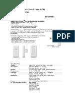 Ubiquiti Nanostation2 Loco 8dBi AP