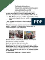 EVIDENCIA FINAL,Estudio de Caso Clasificación de Inventarios1
