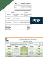 CARACTERIZACION DEL PROCESO DE CONTROL DE CALIDAD