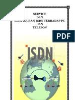 Service dan Konfigurasi ISDN Terhadap PC dan Telepon