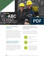 ABC contrato concesión