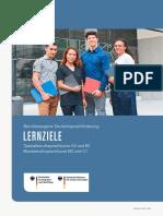 Lernzielkatalog Spezial Und Basisberufssprachkurse Kopie