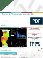 Programa de PCR Frecuentes y Recurrentes 2021