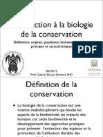 01 Conservation