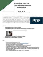 Trabajo de Ética - Carlos Casado 901