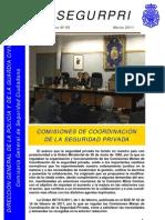 Monográfico nº5,SEGURPRI.Comisiones de Coordinación de S.P