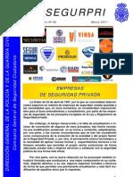 Monográfico nº 6 SEGURPRI.Empresas de S.P