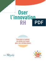 Guide Atelier Oser l Innovation RH