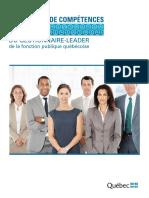 referentiel_compétences gestionnaire- Trésor québec