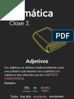 GRAMATICA CLASE 2
