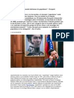 ¿De que hablamos cuando hablamos de populismo? - Ezequiel Adamovsky