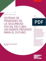 SISTEMA DE PENSIONES DE  LA SEGURIDAD SOCIAL EN CUBA