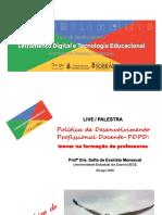 AULA 4 Sofia Menescal - Polít Des Prof Docente