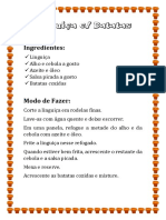 Linguiça Com Batatas