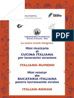 Retete Bucataria italiana in italiana si romana