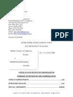 Kenneth Manzanares Sentencing Memo State