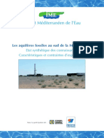 Aquifères fossiles Rapport 1 IME