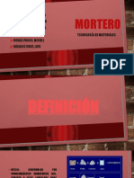 EXPOSICION MORTERO