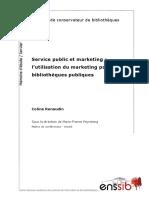 21309 Service Public Et Marketing