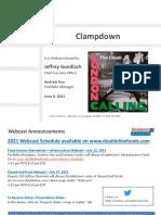 6-8-2021 DoubleLine Webcast Slides 'Clampdown' With Jeffrey Gundlach and Andrew Hsu-unlocked