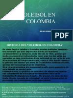 El Voleibol en Colombia