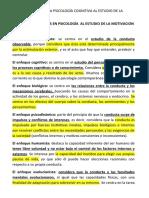 5. TEORIAS COGNITIVAS