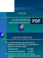 Aplicacion NTCSE