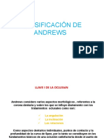 Clasificación de Andrews
