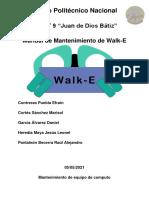 Manual de Mantenimiento Walk-e