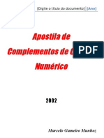 Apostila Completa de Cálculo Númerico ok
