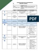 Cuarto Primaria Dosificación 2021 Tercera Unidad