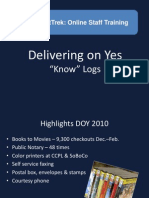 PDF- Delivering on Yes
