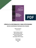 1 CI e Biblioteconomia novos conteudos e espacos de atuacao Marlene Oliveira -2005