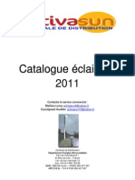Catalogue eclarage 2011