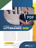 Guide Des Metiers Litteraires 2021