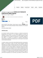 Manejo de Registros Para Bovinos en El Sistema de Produccion de Doble Proposito