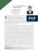 01. NUEVO ENFOQUE EN CUANTO A LA DEFINICIÓN DE LA CIENCIA CRIMINALÍSTICA