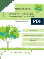 ppt islam dan biologi