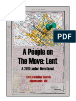 Lent 2011 Devotional