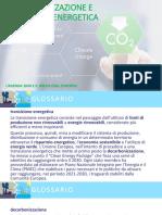 Decarbonizzazione e transizione energetica. Agenda 2030 e Green Deal EU (ed. civica)