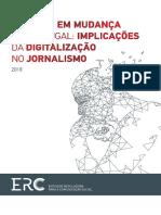 ERC - OS MEDIA EM MUDANÇA em Portugal