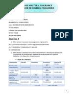 Devoir gestion financière-Groupe Fatou Ndiaye