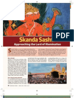 Skanda Shashti Hindu Festival